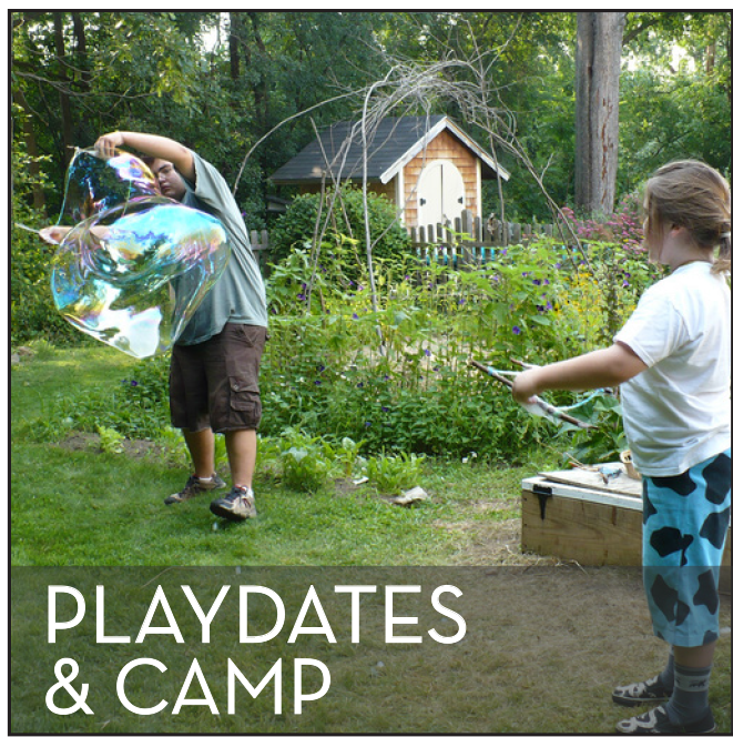 Playdates and Camp